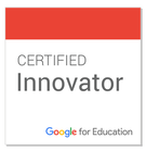 We are Google Certified Innovators
